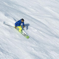 20 lifts serving 129 trails - ©Mammoth Lakes Tourism