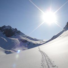 Aufstiegsspur Bergamotte - ©bergamotte.hikr.org
