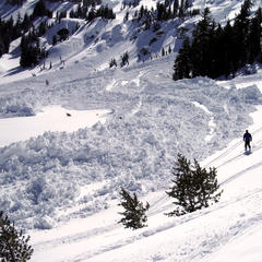 Avalanches can occur inbounds and out-of-bounds at ski resorts.  - © Dean/Flickr
