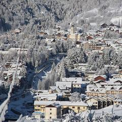 Snowfall in Italy, Jan. 14, 2014