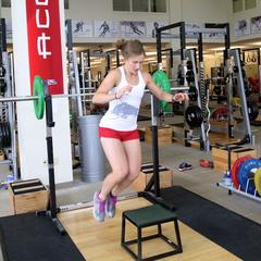 Ski Exercises Lateral Box Jumps