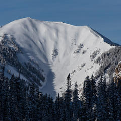 Highland Bowl is the epicenter of Colorado powder skiing. - ©Liam Doran