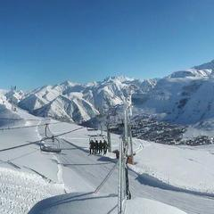 Les 2 Alpes am 17.2.2014