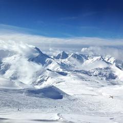 Les 2 Alpes am 9.2.2014