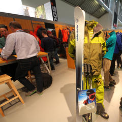 Mountain Hardwear auf der ispo 2014 - ©Skiinfo