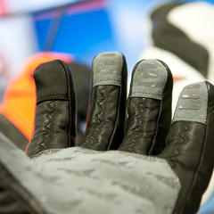The seams in FiredUP gloves allow your hand to relax in a natural position.  - © Ashleigh Miller Photography
