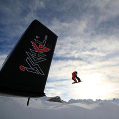 Snowboarder im Snowpark Ischgl - ©Skiinfo
