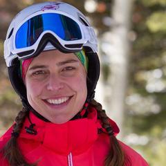 Krista Crabtree, OnTheSnow Ski Tester - ©Cody Downard Photography