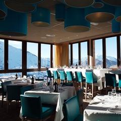 Restaurant at Hotel Les Deux Alpes