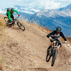 Singletrack in Sun Valley