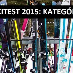 SKITEST 2015: Kategórie testovaných lyží