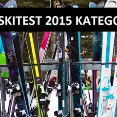 SKITEST 2015: Kategorie testovaných lyží