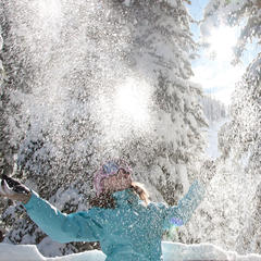 Snowbird happiness - ©Snowbird Ski and Summer Resort