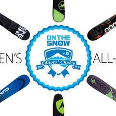 2015 Editors' Choice Men's All-Mountain Front Skis