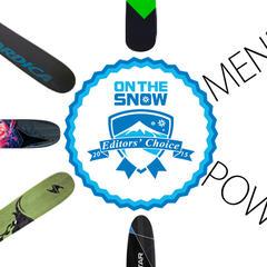 2015 Editors' Choice Men's Powder Skis