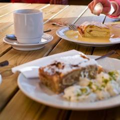 Traditionele gerechten uit de Alpen in het Oostenrijkse Tauplitz