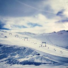 Les 2 Alpes 30. 11. 2014 - ©Les 2 Alpes