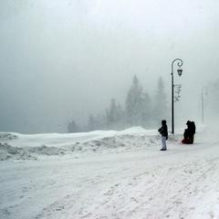 Neuschnee in Valfréjus am 28. Dezember 2014 - ©Modane - Valfréjus