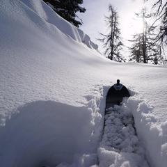 Snowfall in Italy Dec. 27, 2014 - ©Società Guide Alpine Courmayeur (Facebook)
