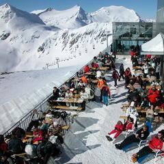 Mölltal - lyžiarska pauzička