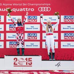 World Championships podium - ©Liam Doran