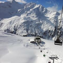 Beautiful conditions in St. Anton March 3, 2015 - ©St. Anton am Arlberg