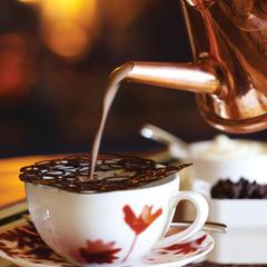 Flame Restaurant's signature Haut Chocolat. - © Four Seasons Resort & Residences Vail
