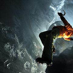 Höhlen Eisklettern - ©Dan Ferrer