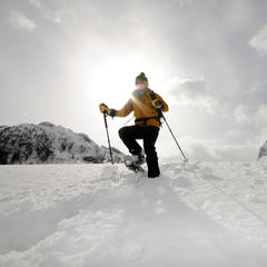 Schneeschuhwandern in Kärnten - ©bergleben.de/Michael Rauschendorfer, triaphoto.com