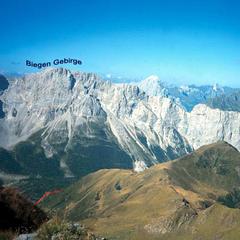 Hochweißsteinhaus zum Wolayersee: Giamondo Pass - ©www.karnische-alpen.com