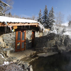 5 Ways to Enjoy Colorado's Mud Season - ©Strawberry Park Hot Springs