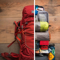 Backpack packing - ©REI