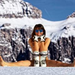 Skilehrerinnenkalender Gröden 2016 - ©Scuola Sci Selva http://www.scuolasciselva.com - Robert Perathoner ski instructor & photographer - www.foto-prodigit.com