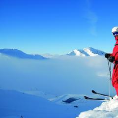 Unterwegs im Skigebiet Hochfügen - ©Wörgotter