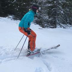 Årets første skitur i Hafjell!