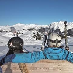 Jarní lyžování v Arose Lenzerheide