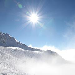 Über den Wolken am Stubaier Gletscher - ©Skiinfo