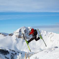 VCA Jackson Hole jumps - ©Jackson Hole Mountain Resort