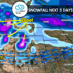12.8 Snow Before You Go: Feet for Tahoe & Rockies
