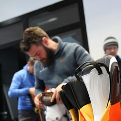 Bootfitting-Workshop mit der Firma Tecnica in Zürs - © Skiinfo