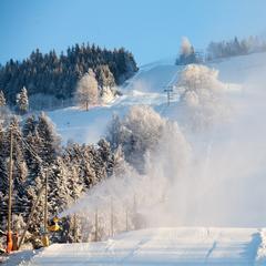 Det er gode forhold på Hafjell Alpinsenter. - ©Hafjell Alpinsenter