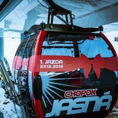 Jasna Niskie Tatry - nowa gondola na południowej stronie Chopoka  - © TMR