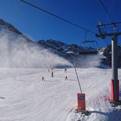 Grand Tourmalet : Des conditions de ski qui s'améliorent - ©Grand Tourmalet