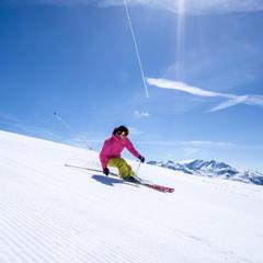 Excellentes conditions de ski à la Rosière - ©Rosière - Espace San Bernardo
