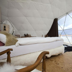 Whitepod Hotel, Les Cerniers, Switzerland - ©Whitepod
