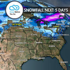 3.2 Snow Before You Go: Powder Refills for Tahoe & Northwest - ©Meteorologist Chris Tomer