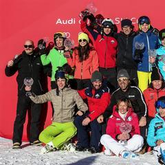 Audi quattro Ski Cup: finale a Madonna di Campiglio - ©Audi quattro Ski Cup