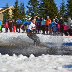 Det blir vannskikonkurranse på Sjusjøen i påska. - ©Sjusjøen skisenter