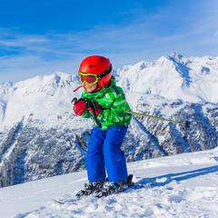 Jak správně vybrat délku lyží pro děti? - ©Max Topchii - Fotolia.com