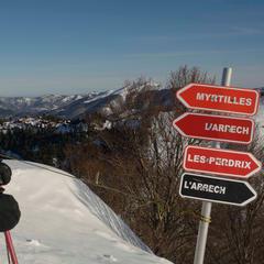 pistes ski guzet - © Alex Gosteli